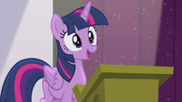 Twilight --one day I'd give a speech-- S5E25