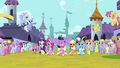 Twilight and friends singing and trotting S03E13.png