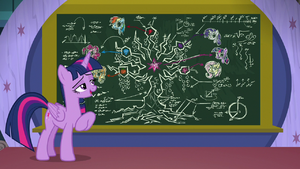 Twilight gives lesson on Tree of Harmony S8E22