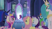 Twilight leaving through the mirror EG