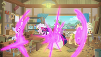 Twilight teleports into woodworking class S9E5