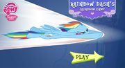 AiP Rainbow Dash's Rainboom Game
