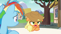 Applejack --don't know what kind of whammy-- S6E21