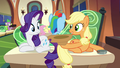 Applejack holding out her hat S4E22.png