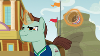 Buckball unicorn practicing for tournament S9E6