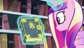 Cadance looks at the tome S6E2.png