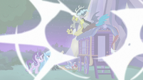 Discord dispelling his chaos magic S6E25