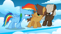 Filly Rainbow Dash 'In history, maybe' S1E23