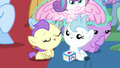Flurry Heart levitated out of the pile of babies S7E22.png