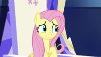 Fluttershy looks a little embarrassed S7E14