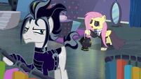 Fluttershy returns as a goth pony S8E4