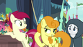 Golden Harvest cuts in front of Rarity S7E19.png