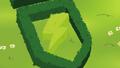 Hedge shaped like Wonderbolts insignia S4E21.png