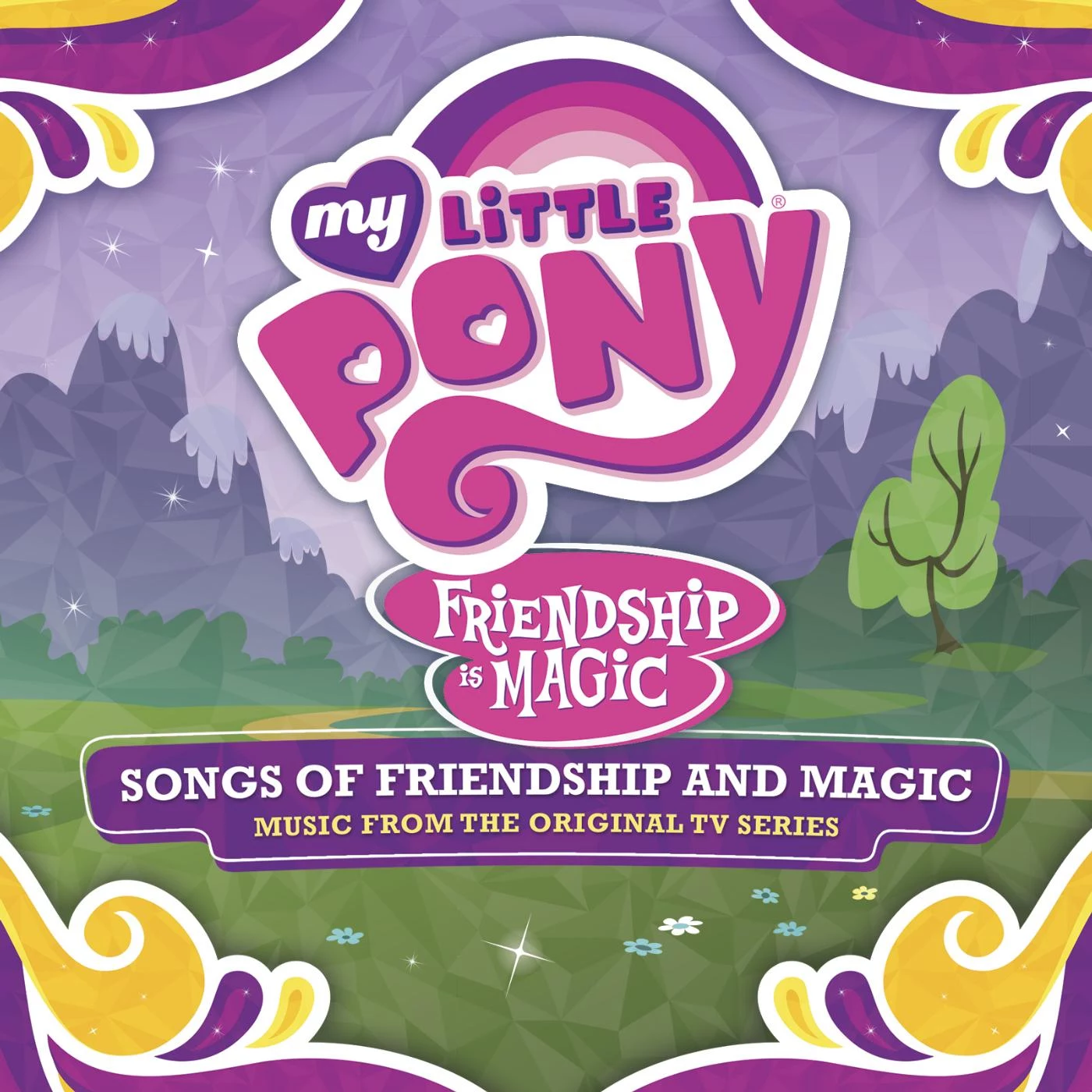 MLP Soundtrack Album Cover