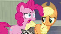 Pinkie Pie -tell her to stop saying that!- S8E4