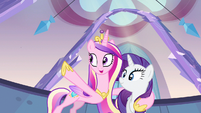 Princess Cadance pointing out S3E12
