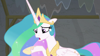 "Princess Celestia ""why didn't you tell me?"" S8E7"