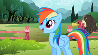 Rainbow Dash 'can't wait to get started' S2E07