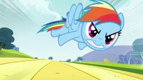 Rainbow Dash beyond Max Q S2E22