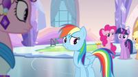 Rainbow Dash telling story S3E12