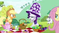 Rarity 'anything suitable to wear' S4E18
