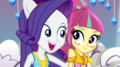 Rarity puts an arm around Sour Sweet EGS1.png