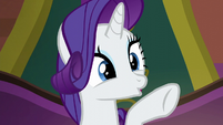 Rarity singing --if you want to show-- S6E12