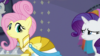 Rarity worried about Fluttershy again S8E4
