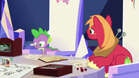 Spike --all alone... with no friends-- S6E17