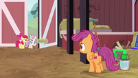 """Sweetie Belle """"maybe we should wait here"""" S9E23"""