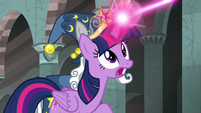 "Twilight Sparkle ""fight the darkness, Stygian!"" S7E26"