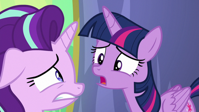 """File:Twilight Sparkle """"what are you talking about?"""" S7E1.png"""