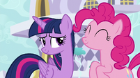 Twilight Sparkle embarrassed S5E12