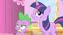 Twilight Spike you lovebird S1E20