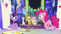 Twilight approves of Pinkie's trip to Yakyakistan S7E11