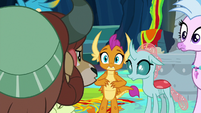 "Yona sternly says ""no!"" at Smolder S9E3"
