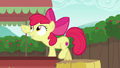 Apple Bloom trying to remove a cart fringe S6E14.png