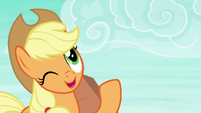 Applejack -little to the left- S8E9