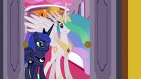 Celestia telling Twilight to go S3E01