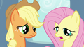 "Fluttershy ""can't be too much left in there"" S5E5.png"