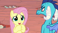 "Fluttershy ""just tell me what to do!"" S9E9"