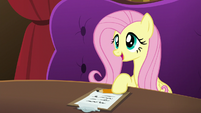 "Fluttershy ""sat down and talked to each other"" S6E20"