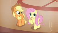 Fluttershy --move in and take over his resort-- S6E20
