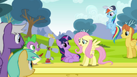 Fluttershy cannot believe S2E22