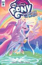 Legends of Magic issue 9 cover RI