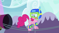 "Pinkie Pie ""it's a race for Rainbow Dash"" S4E18"