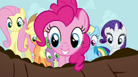 Pinkie Pie -that WAS a big finish!- S4E01
