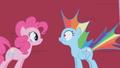 Pinkie Pie scares Rainbow Dash S01E05.png