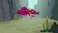 Pinkie and Maud flee from quarray eels S7E4.png