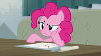 Pinkie whispering -whatever this is- S6E12